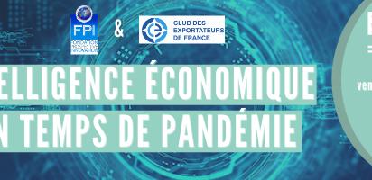 Webinaire : Intelligence économique en temps de pandémie - 26 février 2021